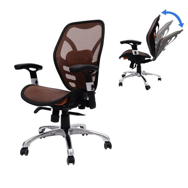 homcom deluxe mesh ergonomic seating office chair. homcom deluxe mesh ergonomic seating office chair - orange free shipping today overstock.com 24247305 homcom e