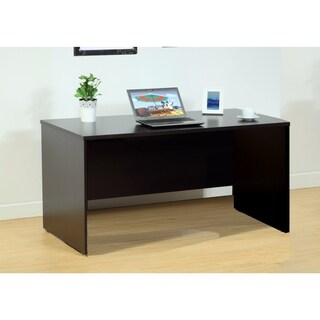 Urbane Brown Finish Computer And Writing Desk.