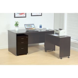 Spacious File Cabinet With 2 Drawers On Metal Glides.