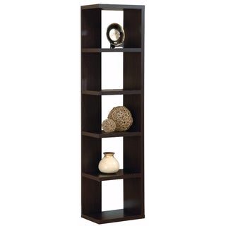 Simple And Stylish Corner Display Cabinet, Brown