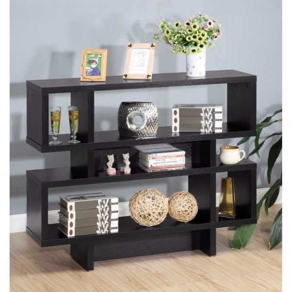 Contemporary Style Display Cabinet Black & Shop Contemporary Style Display Cabinet Black - Free Shipping Today ...