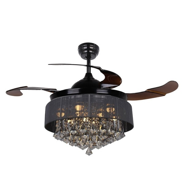 Black Chandelier Fan