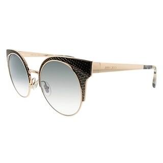 Jimmy Choo Fashion JC ORA PSW Women Black Rose Gold Frame Grey Lens Sunglasses