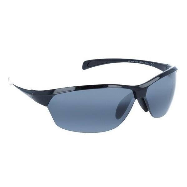 Maui Jim Unisex Hot Sands 426 02 Gloss Black Frame Neutral Grey Polarized Lens Sport Sunglasses
