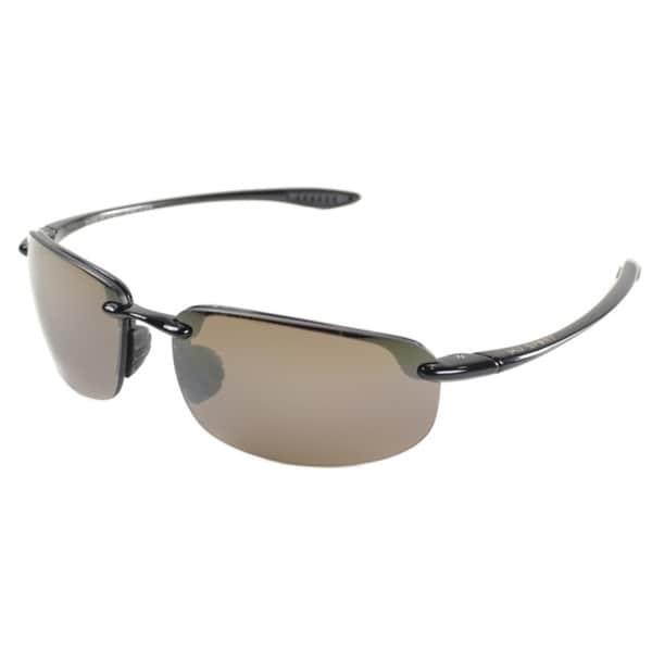 aa26c3cb7e6 Maui Jim Unisex Ho  x27 okipa H407 02 Gloss Black Frame HCL Bronze Polarized