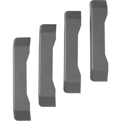 """Gladiator GarageWorks GearTrack® End Caps (4-pack) - 1.25"""" w x 6.25"""" H x .75""""D"""