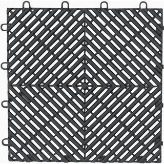 """Gladiator GarageWorks 12"""" x 12"""" Drain Tile (4-Pack)"""
