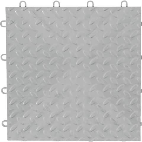 "Gladiator GarageWorks 12"" x 12"" Tile Flooring (4-Pack) - 4sq ft .5"" deep"