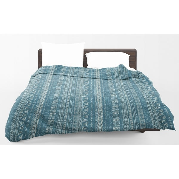 Kavka Designs Teal Landscape Light Weight Comforter Becky Bailey
