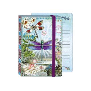 Punch Studio Journal Soft Cover Bungee Dragonflies