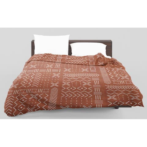 Kavka Designs Edan Rust Light Weight Comforter Terri Ellis