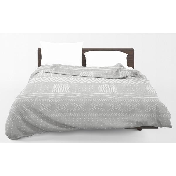 Kavka Designs Grey Nova Light Weight Comforter Becky Bailey