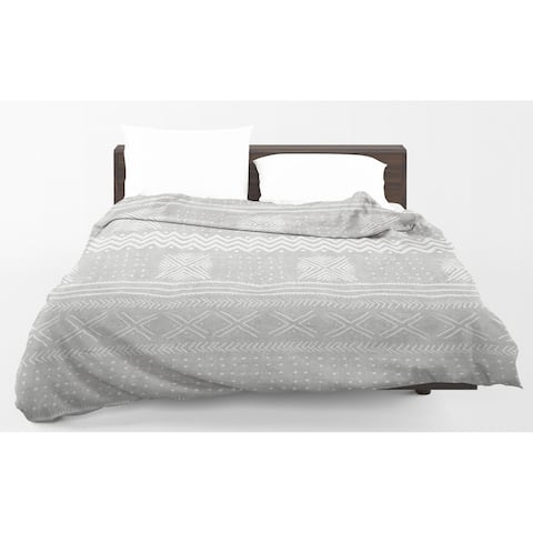 Kavka Designs Grey Nova Light Weight Comforter Becky Bailey