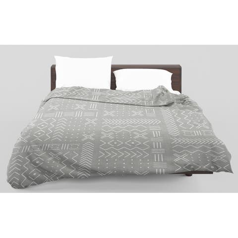 Kavka Designs Edan Grey Light Weight Comforter Terri Ellis