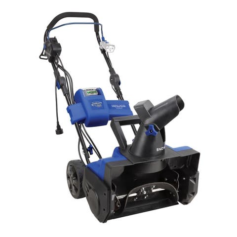 Snow Joe iON18SB-HYB-RM Hybrid Single Stage Snow Blower 18-Inch 40 Volt 13.5 Amp Brushless (Refurbished)