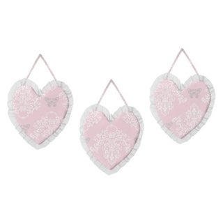 Sweet Jojo Designs Wall Hangings for the Alexa Collection (Set of 3)