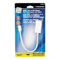 Monster Cable  6 ft. L x 6 in. L HDMI Adapter
