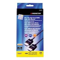 Monster  Just Hook It Up  6 ft. L High Speed HDMI Cable with Ethernet  HDMI