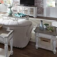 Magnolia Manor Antique White 3-Piece Occasional Set