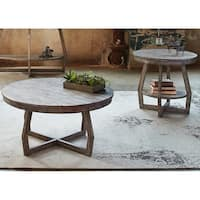 Pine Canopy Redwood Grey Washed 3-piece Occasional Set