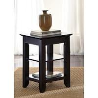 Piedmont Dark Mocha Metropolitan Chair Side Table