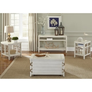 Dockside II White 3-piece Occasional Set