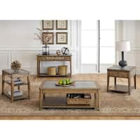 Weatherford Brownstone Caramel 3-piece Occasional Set