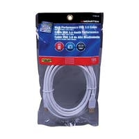 Monster Just Hook It Up  15 ft. L White  USB Cable