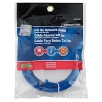 Monster  7 ft. L Category 5E Networking Cable
