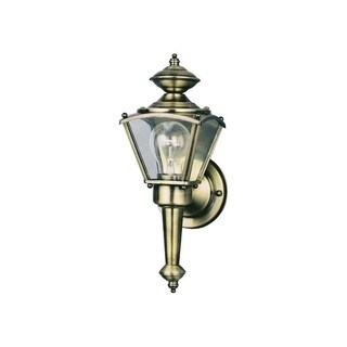 Westinghouse 1 lights Antique Brass Outdoor Wall Lantern