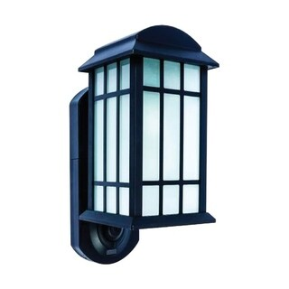 Maximus Black Matte Aluminum Outdoor Wall Lantern