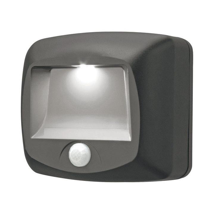Mr Beams Brown Plastic Stair/Deck Lights Motion-Sensing L...
