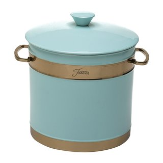Fiesta 3 quart Double-Walled Ice Bucket with Copper Accents