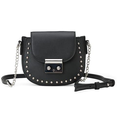 Olivia Miller The Caldas Saddle Shape Bag Wit