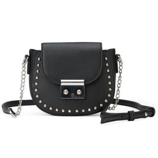 Olivia Miller The Caldas Saddle Shape Bag Wit (Option: Microfiber)