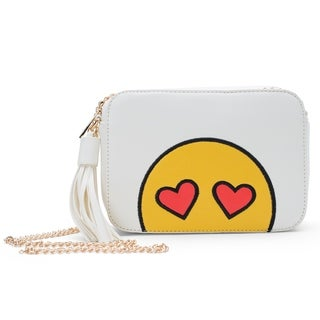 Olivia Miller Emoji crossbody bag