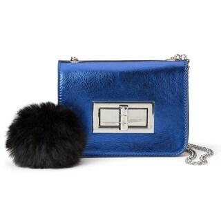 Olivia Miller The Mansbury Metallic Shoulder Bag