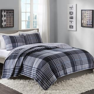 Intelligent Design Mark Blue Reversible 3-piece Quilt Set|https://ak1.ostkcdn.com/images/products/18090466/P24249126.jpg?impolicy=medium