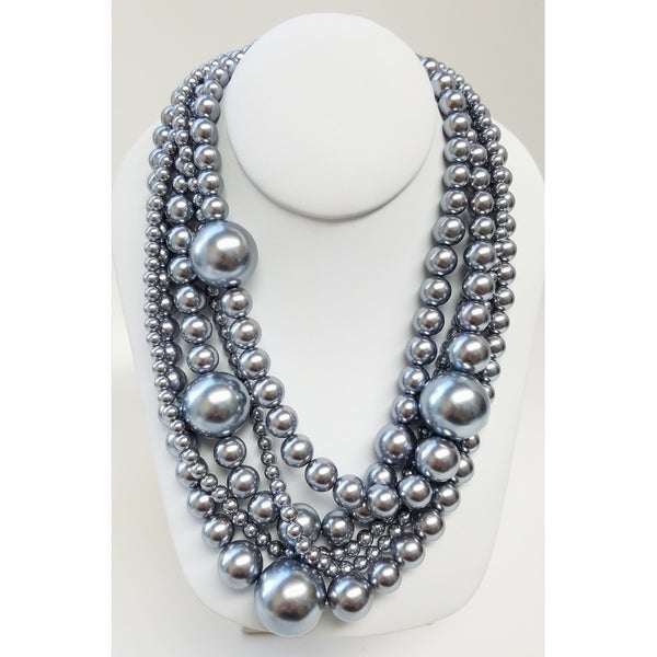 Kenneth Jay Lane 16 Multi Color Pearl Necklace Multi-color s1hBnlGVfU