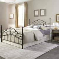 Fashion Bed Group Sycamore Metal Bed in Hammered Copper Finish