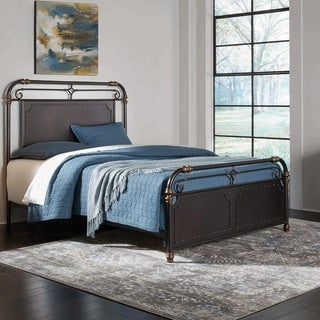 Fashion Bed Group Westchester Metal Bed in Blackened Copper Finish