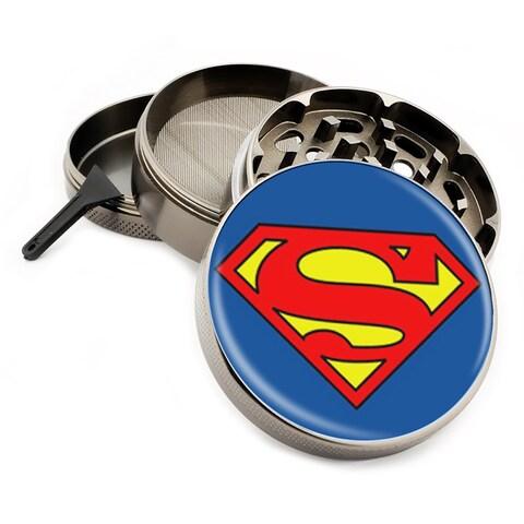 Superhero Herb Griders with Bonus Scraper, 4pc