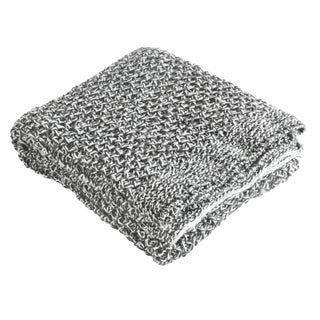 Brielle Riviera Classic Chunky Braid Throw (3 options available)