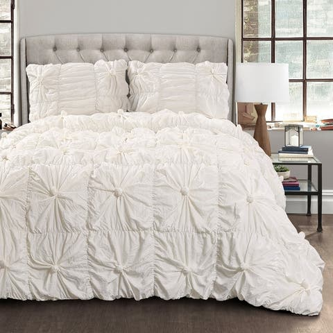 Lush Decor Bella 3 Piece Comforter Set