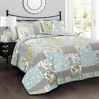Lush Decor Roesser 3 Piece Quilt Set
