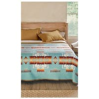 Pendleton Chief Joseph Aqua King Blanket