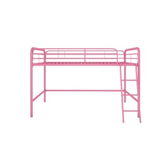 Laurel Creek Roland Metal Twin Loft Bed