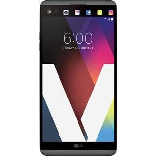 LG V20 64GB H910A Unlocked GSM 4G LTE Quad-Core Phone w/ Dual Rear Camera (16MP+8MP) - Titan