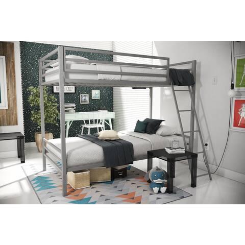 Novogratz Maxwell Metal Bunk Bed
