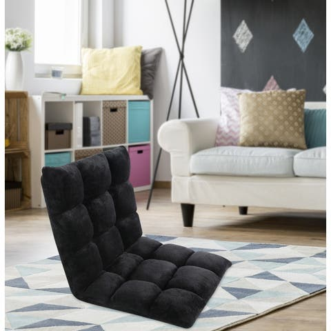 Chic Home Esme Microplush Adjustable Recliner Chair